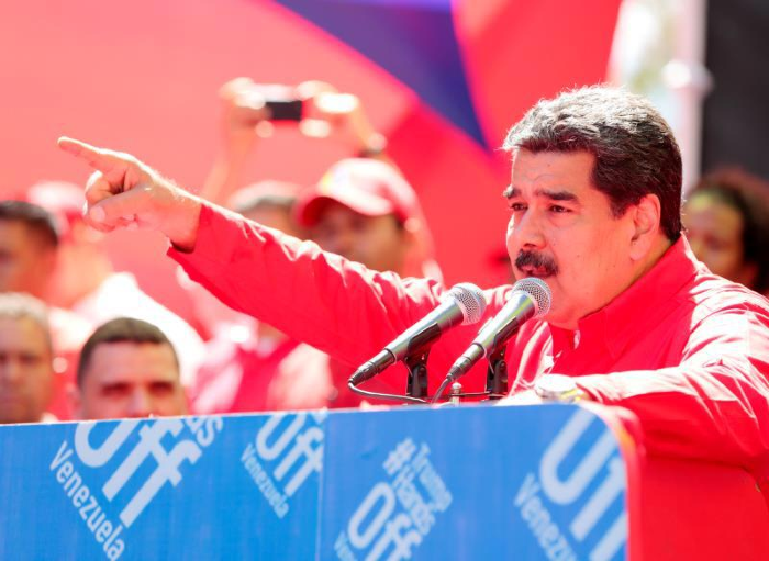Maduro llamado mundo