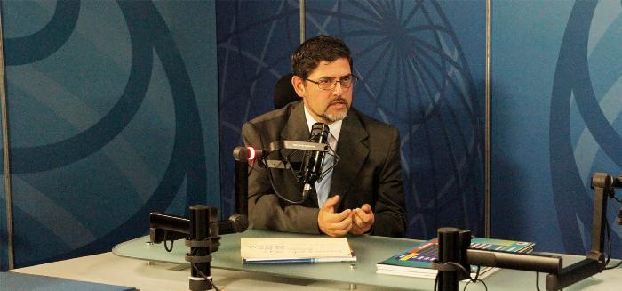 Secretario ejecutivo del Consejo General de Policía, Pablo Fernández.
