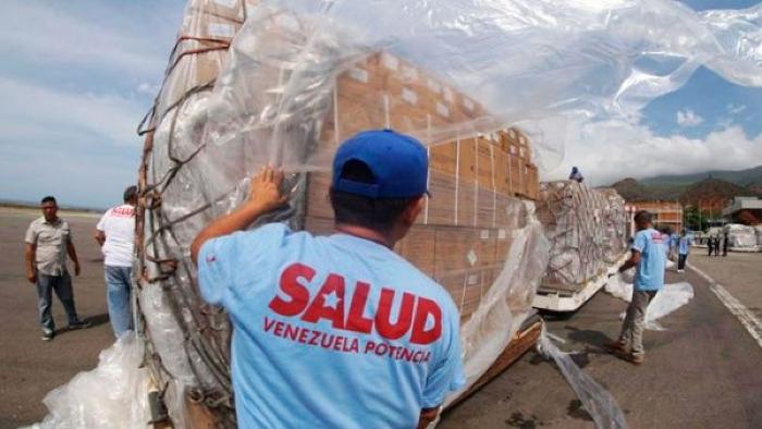 Llegaron A Venezuela Otras 69 Toneladas De