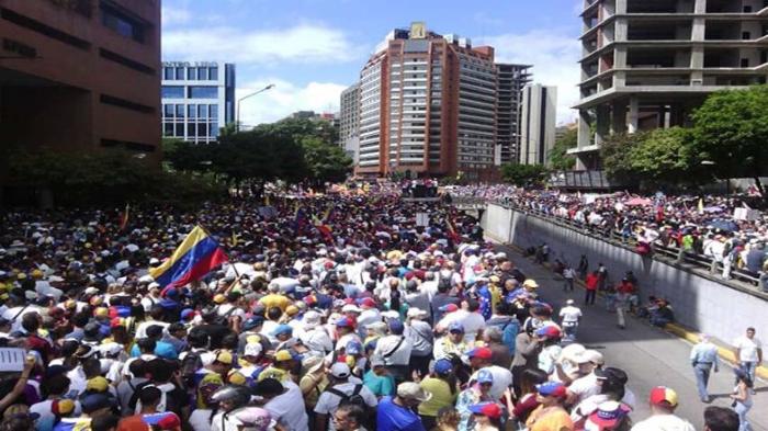 marcha oposición