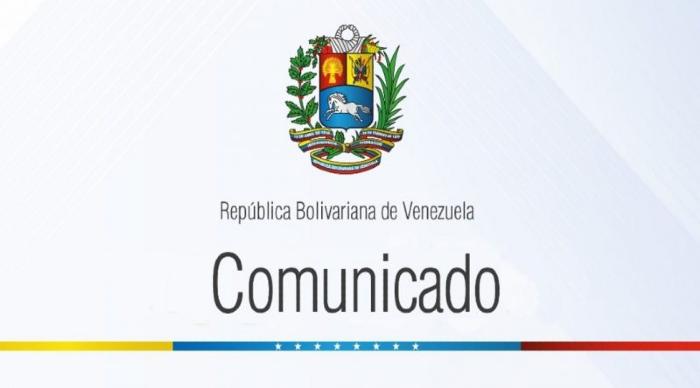 Comunicado Venezuela rechazo 01042019